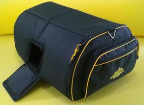 Bag Capa Caixa De Som Jbl Prx 812 Acolchoada Amarela