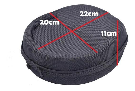 Case Estojo Rígido Headphone Headset Edifier Jbl Sony Akg - Compatível Vários Modelos