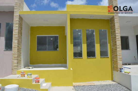 Casa Com 2 Dormitórios, Bem Localizada - Gravatá,pe - Ca0433