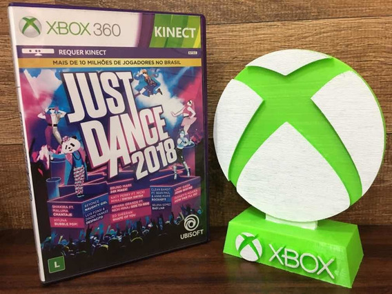 Just Dance 2018 Xbox 360 Original Mídia Física