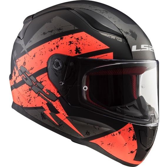 Casco Cerrado Ls2 Rapid Deadbolt Ff353 + Regalo Rider One