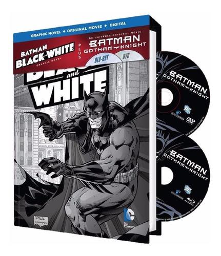 Imagen 1 de 1 de Blu-ray Batman Gotham Knight / Bd + Dvd + Novela Grafica