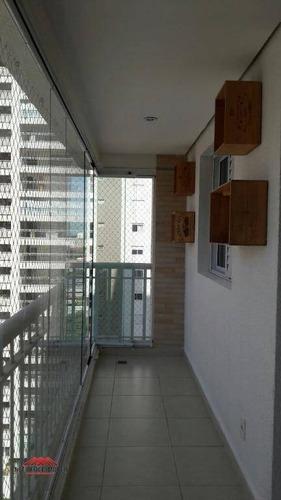 Apartamento Com 3 Dormitórios À Venda, 90 M² Por R$ 560.000,00 - Jardim Aquarius - São José Dos Campos/sp - Ap1942