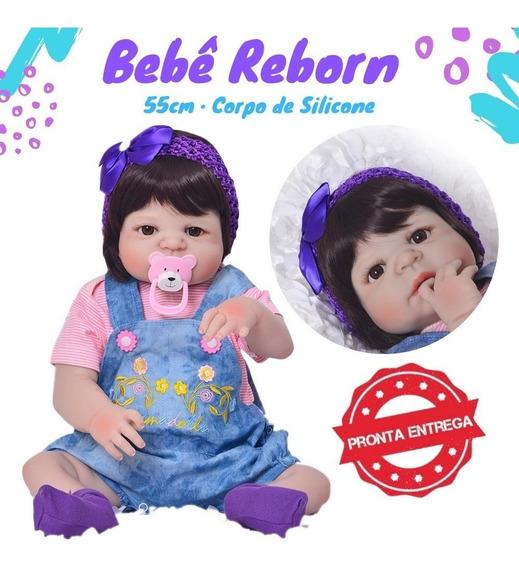 Bebê Reborn Promoção Barato Corpo De Silicone Vinil Em Sp