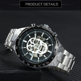 6f275649fe62 Pulseras Hombre Plata Calaveras - Relojes en Mercado Libre México