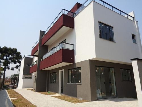 Imagem 1 de 14 de Sobrado Com Terraço 3 Dormitórios No Bairro Uberaba Em Curit