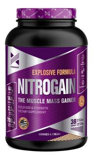Nitrogain 1,5kg Xtrenght Ganador De Peso Con Oxido Nitrico