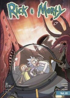 Rick Y Morty Vol 1 Al 4 - Ovni Press Mpa
