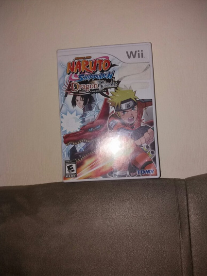 Naruto Dragon Blade Wii Compelto Com Manual