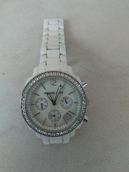 Relógio Michael Kors Branco Feminino Mk5079