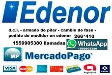 Electricista Matriculado Moreno Dci Medidor Edenor Pilar Mp