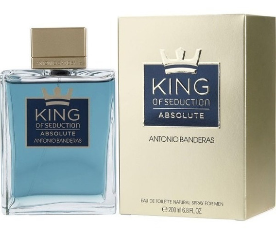 Perfume King Of Seduction Absolute 200ml Nota Fiscal, Adipec