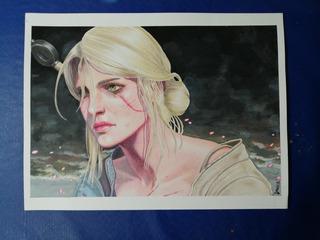 Dibujo De The Witcher Ciri