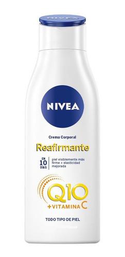 Crema Nivea Reafirmante Q10 Plus 125 Ml