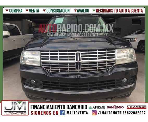 Lincoln Navigator Vagoneta Ultime Qc Lujo 4x4 At