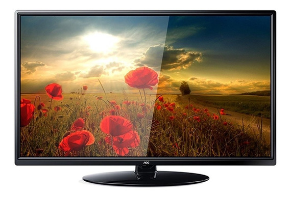 Tv Led 24 Aoc Le24m1475 Hd 1 Usb 2 Hdmi
