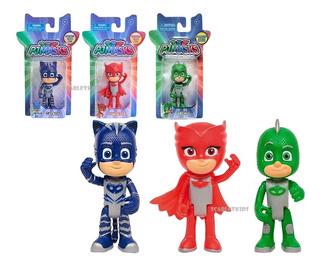Pj Mask Catboy Geeko Buhita Original Combo 3 Figuras Scarlet
