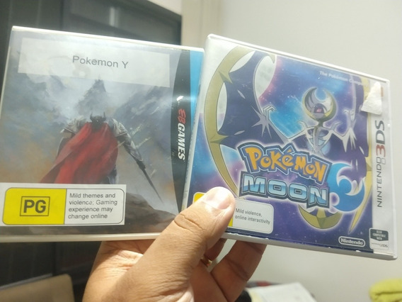 Pokémon Y E Moon - 3ds