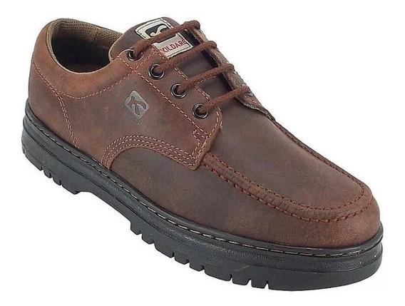 Sapato Masculino Kildare Em Couro Natural Timber G521