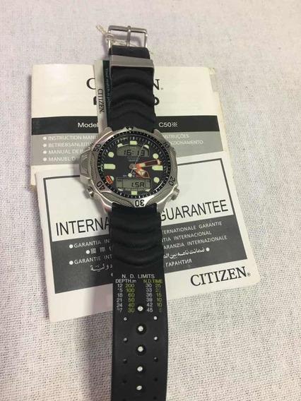 Relogio Citizen Aqualand Promaster C500 Jp1010 Preto