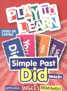 Play To Learn - Jogo De Cartas - Simple Past - Did Ingles