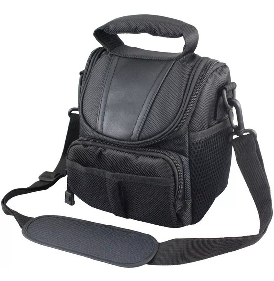 Bolsa Mini Bag Câmera Fotografica Canon Nikon Sony Fuji