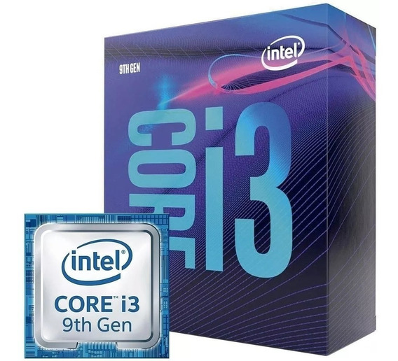 Processador Intel Core I3 9100f 1151 +1 Brinde