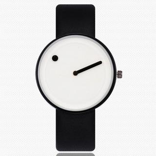 Reloj Unisex White & Black + Estuche