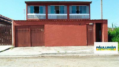 Sobrado Com 4 Dorms, Balneário Itaguai, Mongaguá - R$ 300.000,00, 0m² - Codigo: 23007 - A23007