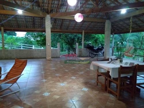Imagem 1 de 28 de Chácara Com 2 Dormitórios À Venda, 2800 M² Por R$ 420.000,00 - Tataúba - Caçapava/sp - Ch0086