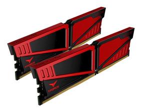 Memória Ddr4 Team T-force Vulcan Red 8gb (2x4gb) 3000 Mhz