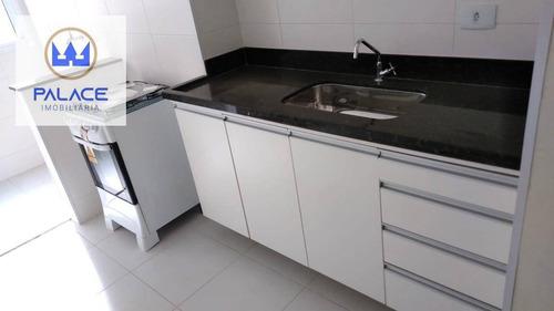 Apartamento Com 2 Dormitórios À Venda, 70 M² Por R$ 239.000,00 - Paulicéia - Piracicaba/sp - Ap0732