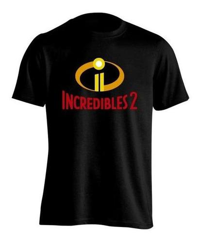 Los Increíbles The Incredibles 2 Remera H