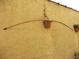 Arco E Flecha Longbow.