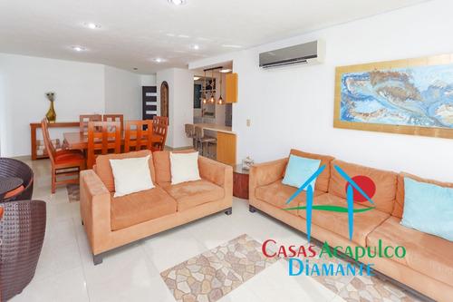 Imagen 1 de 14 de Cad Lobayan 104. En La Mejor Zona De Acapulco. Cerca Al Mar