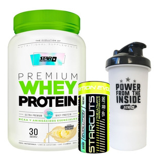 Whey Protein 2 Lb + Starcuts 120caps + Smart Star Nutrition