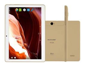 Tablet Multilaser M10a Nb268 Dourado 3g Android 7.0 10