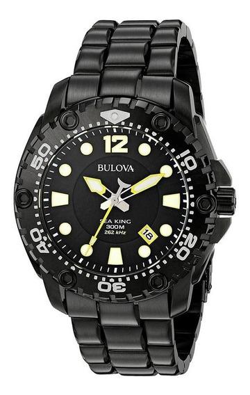 Relogio Bulova Sport Uhf Sea King Black - Rei Do Mar Novo