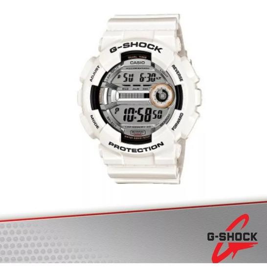 Relógio Casio G-shock Gd-110 7dr 5 Alarmes 48 Cidades 200m