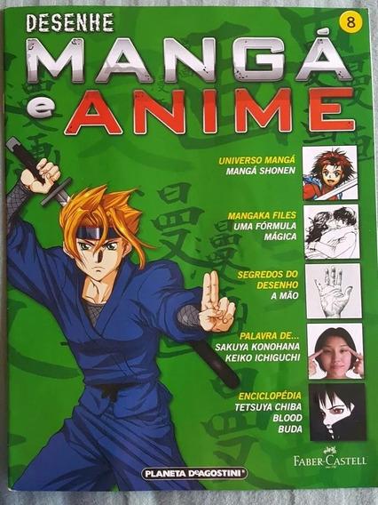 Revista Desenhe Manga E Anime Lote 6 Revistas Curso Desenho