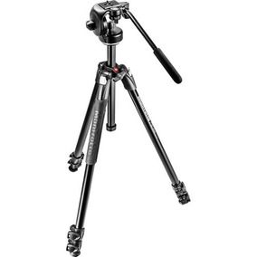Tripode De Video Manfrotto Mk290xta3-2w + Bolso + Garantía