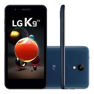 Smartphone Lg K9 Tv 16gb Android 7.0 2gb Ram - Azul