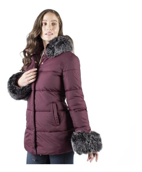 Chamarra Mujer Greenlander Pol7001 Peluche Desmontable