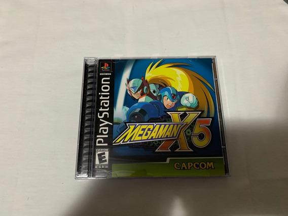 Mega Man X5 Ps1 Completo Original Americano