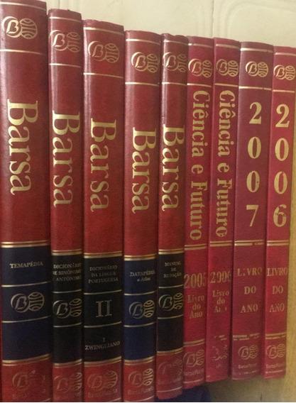 Coleção Enciclopédia Barsa 9 Vol - Ótimo Estado (2006/2007)
