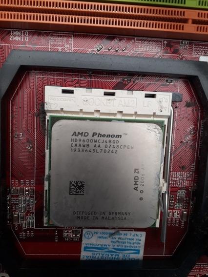 Processador Amd Phenom Hd 9600 + Placa Mãe Msi K9n6pgm2-v