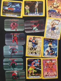 Figurinhas Game Cards Street Fighter Ii Lote