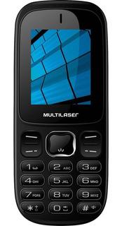 Celular Barra 3g - P9017 - Multilaser (preto)