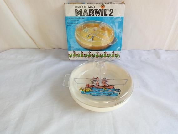 Prato Termico Antigo Para Bebes Da Marwil