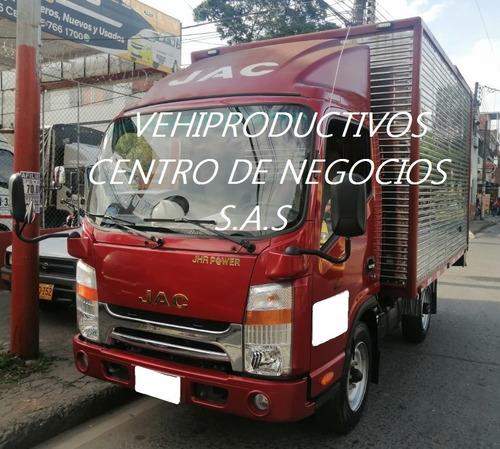 Camion Jac 1035 Furgon Seco 2017 Con Trabajo